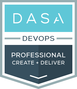 DASA DevOps Professional create and deliver certification