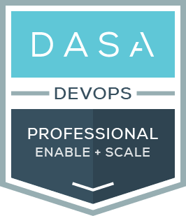 DASA DevOps Professional Enable and Scale certificaton