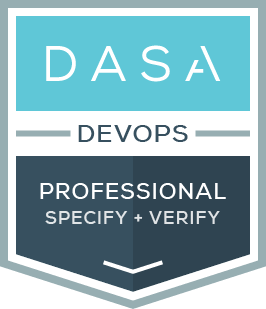 The DASA DevOps Professional specify and Verify certification