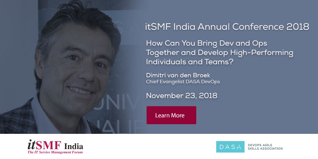 itSMF India Annual Conference 2018
